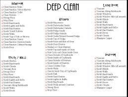 Home Design Checklist by Deep Clean Bedroom Home Design