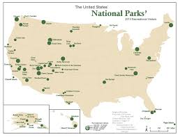 Map Of National Parks In Usa by Trumpland And Clinton Archipelago Dataisbeautiful