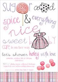 sugar and spice baby shower sugar and spice baby shower invitations marialonghi