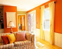 Orange Living Room Decor Orange Color Wall Ideas Wall Design Leftofcentrist