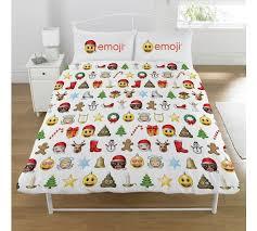 Christmas Duvet Covers Uk Buy Emoji Christmas Duvet Cover Set Double At Argos Co Uk Your