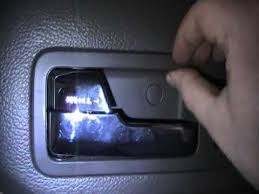 Ford Fusion Interior Door Handle Replacement Ford Fusion Broken Door Handle