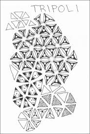 34 best zentangle tripoli images on pinterest doodles
