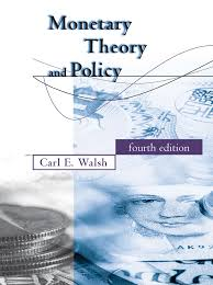 monetary theory and policy the mit press