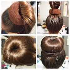 hairstyles using a bun donut confortable hairstyles donut bun in how to do donut bun hairstyle
