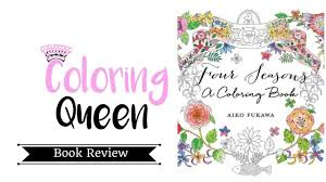 seasons coloring book review aiko fukawa