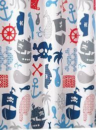 Kassatex Shower Curtain Kassatex Pirate Shower Curtain Pirate Shower Curtain For