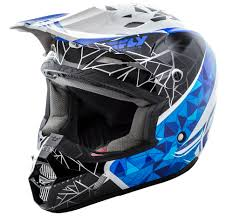 fly motocross helmet kinetic crux white black blue helmet fly racing motocross mtb