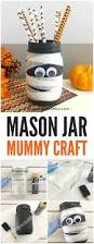 Mason Jar Halloween Mason Jar Mummy Craft Holidays And Halloween Fun