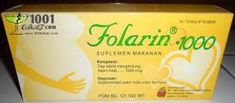 Obat Folac vitamin b9 asam folat daftar nama obat dan fungsinya serta harga
