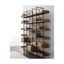 beckett 6 high shelf shelves woods and crates