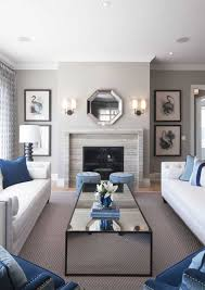 welcoming living room designed with neutral wall colors and using