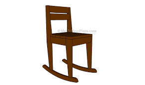 Rocking Chair Drawing Plan Kids Chair Plans Myoutdoorplans Free Woodworking Plans And