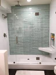 glass bathroom tile ideas 68 best subway tile images on glass subway tile