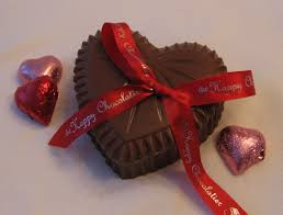 decorations sweet chocolate candy with ribbons for valentine day