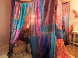 Boho Bed Canopy Indian Bed Canopy Design Decoration