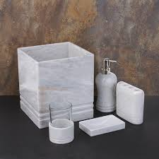 white marble bath accessories free shipping on orders over 45