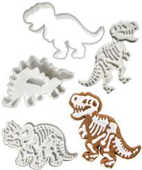 dig ins dinosaur fossil cookie cutters
