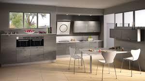 cuisine gris bois beautiful cuisine grise et blanc 8 cuisine mod232le sci233e en