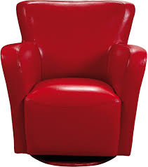 don red leather chair accent chairs red hastac 2011