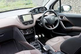 peugeot 2008 interior 2017 peugeot 2008 1 6 e hdi feline 5d road test parkers
