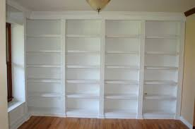How To Build Bookshelves Bookcase Bookcase On Wall Practical Use Of Wall Above Sofa In