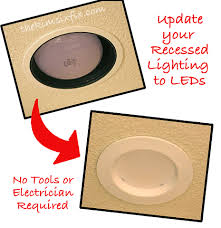 how to upgrade recessed lights to leds tutorial the kim six fix