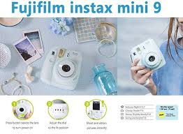 amazon black friday code fujifilm instax 300 amazon com fujifilm instax mini 9 instant camera ice blue fuji