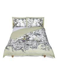 botanical etching print u0026 embroidered bedding set m u0026s