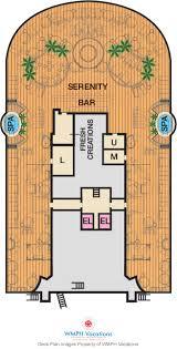 Carnival Floor Plan Carnival Horizon Deck Plans Serenity Deck What U0027s On Serenity