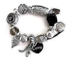 ebay jewelry silver charm bracelet images Bracelets infinity tennis charm ebay JPG