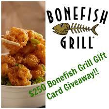 bonefish gift card 250 bonefish gift card giveaway 12 days of bonefish grill