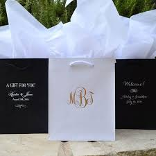 personalized wedding gift bags customized hotel wedding welcome bags gracious bridal