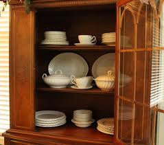 how to arrange dishes in china cabinet 3 steps to organize your china cabinet for fall southern