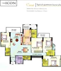 floor plans of dlf icon dlf the icon for sale buy dlf the icon