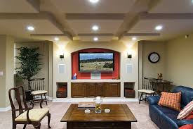 Basement Refinishing Cost by Awesome Design Ideas How Much Is It To Finish A Basement Finishing