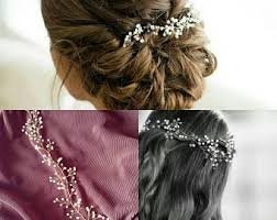 wedding hair using nets wedding hair accessories etsy uk