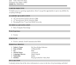 resume sles for freshers free download pdf striking sle resumes for freshers resume template format word
