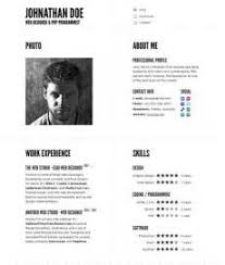 great looking resume templates resume pdf download
