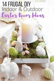 Decorating Ideas Easter Outdoor Decorations by 14 Frugal Easter Decorating Ideas To Diy U2013 The Wardrobe Stylist