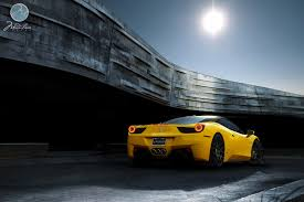 ferrari yellow and black wheel experts gallery u2014 ferrari 458 italia 21 22 u201d b1
