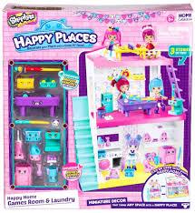 happy home decor shopkins happy places miniature decor happy home games room and