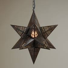 moravian star pendant roselawnlutheran moravian star pendant light fixture made of metal with chain for ceiling