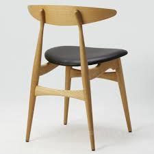 Scandanavian Chair Scandinavian Furniture White Oak Wood Dining Chair Minimalist Ikea