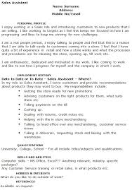 sales assistant cv example marketing manager cv beispiel cv