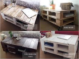 Wooden Pallet Coffee Table Reclaimed Wood Pallet Coffee Table Internet Vs Wallet