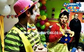 clowns for a birthday party kids themed in liverpool children themed birthdays