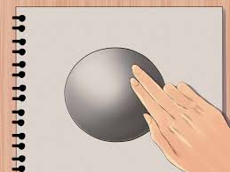 how to draw a shaded sphere 5 steps with pictures wikihow
