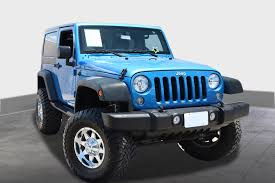 jeep sahara 2016 blue blue jeep wrangler in texas for sale used cars on buysellsearch
