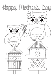 Latest Mother S Day Cards Free Mother U0027s Day Card Templates Card Templates Owl And Cards